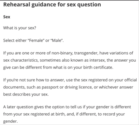 ONS sex question guidance